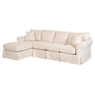 Sofa With Chaise Slipcover Wayfair