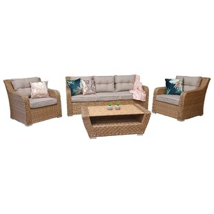 Elizabeth 5 Seater Rattan Conversation Set By Autumn Leaves Furniture Outlet LTD