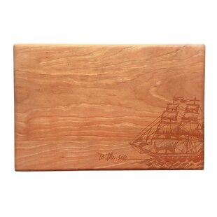 Wood To the Sea Artisan Cutting Board