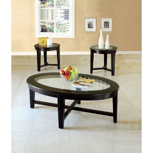Red Barrel Studio Netto 3 Piece Coffee Table Set