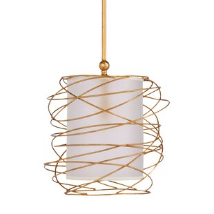 Cosmo 1-Light Cylinder Pendant by Wildwood