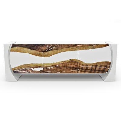 Arditi Collection 82.6 Wide Credenza  Color: White