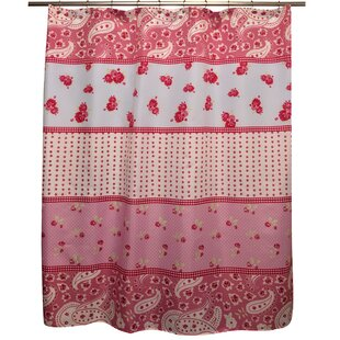 Shabby Elegance Single Shower Curtain