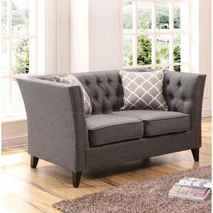 Mcgee Chesterfield Loveseat