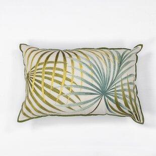 Delview Palms Cotton Lumbar Pillow
