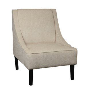 Brayden Studio Macdonald Swoop Slipper Chair