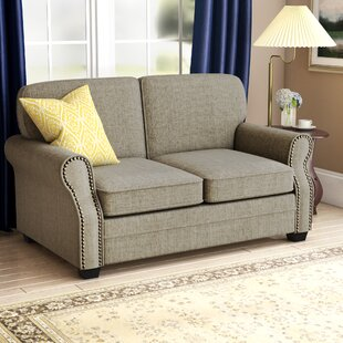 Best #1 Alcalde Transitional Loveseat Darby Home Co