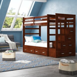 Buying Jeremias Twin Over Twin Bunk Bed with Trundle by Harriet Bee Reviews (2019) & Buyer's Guide