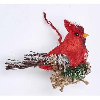 Cobane Studio Llc Female Cardinal Hanging Figurine Wayfair