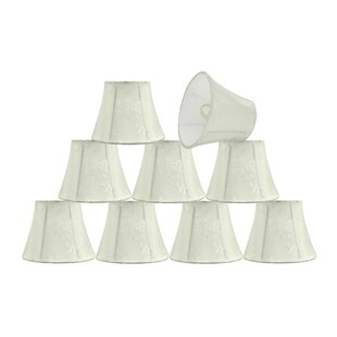 5'' Fabric Bell Floral Lamp Shade (Set of 9)