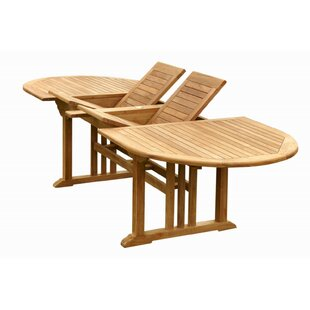 Sahara Extendable Teak Dining Table by Anderson Teak Discount