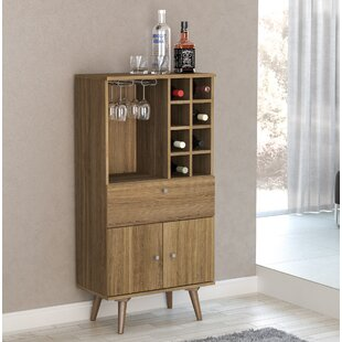 George Oliver Charney Bar with Wine Storage