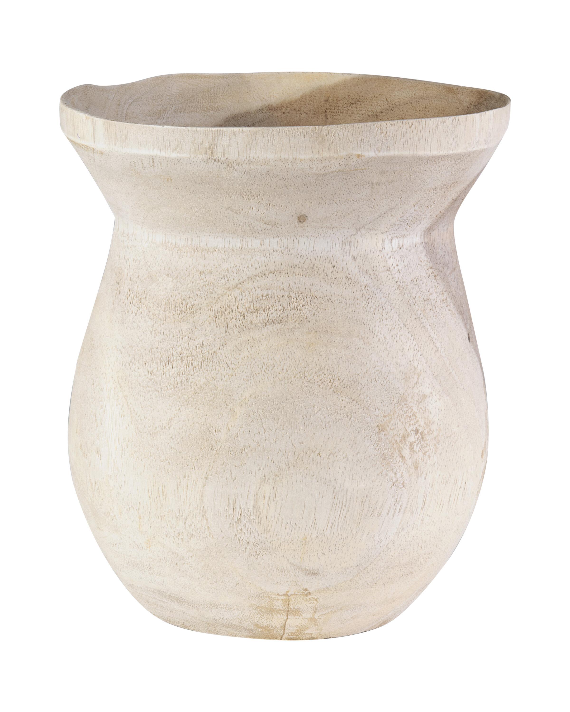Rustic Wood Vases Urns Jars Bottles You Ll Love In 2021 Wayfair