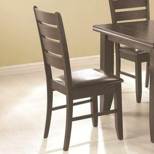 Alcott Hill Leib Upholstered Dining Chair (Set of 2)