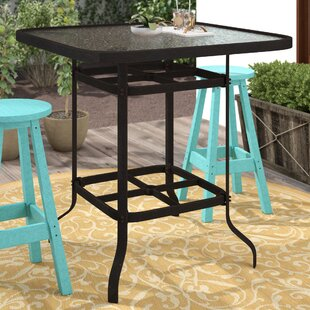 Isola Metal Bar Table by Darby Home Co