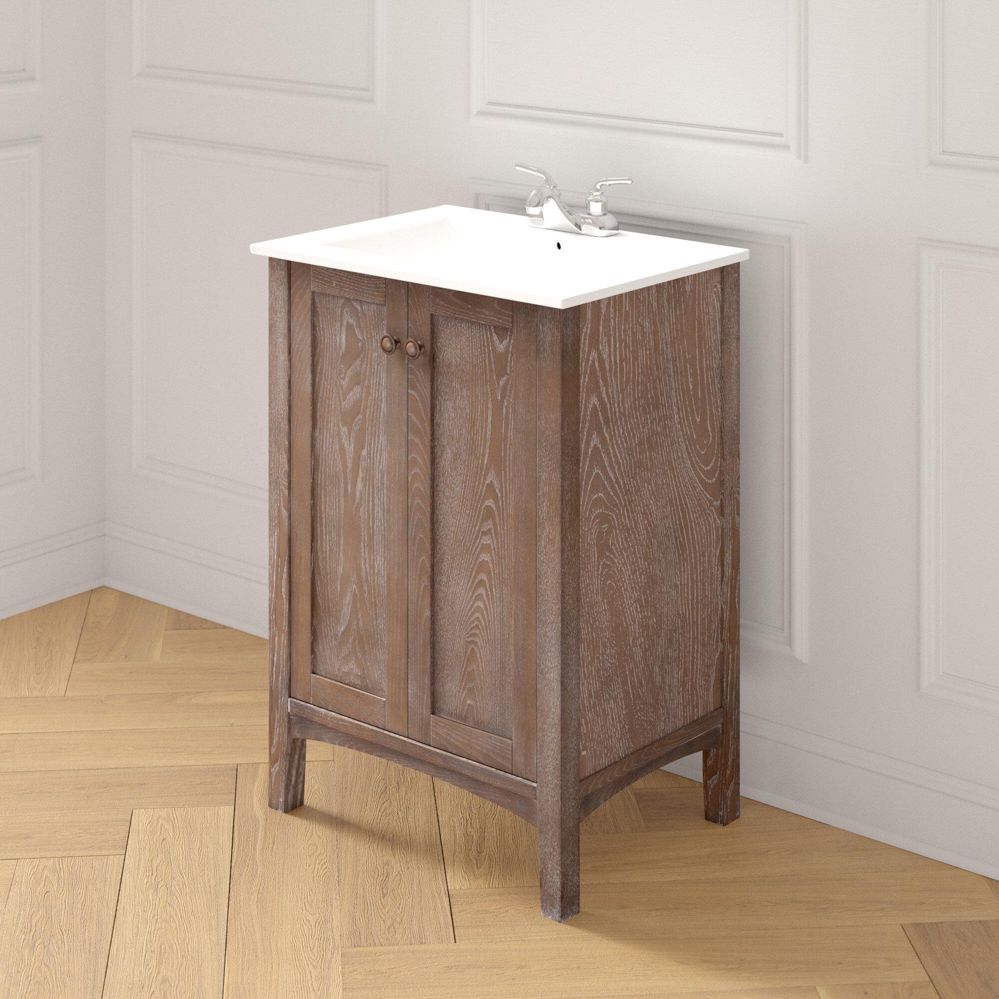 Miltonsburg 24 Single Bathroom Vanity Set Reviews Joss Main
