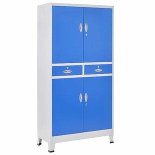 Culbertson 4 Door Storage Cabinet By Ebern Designs