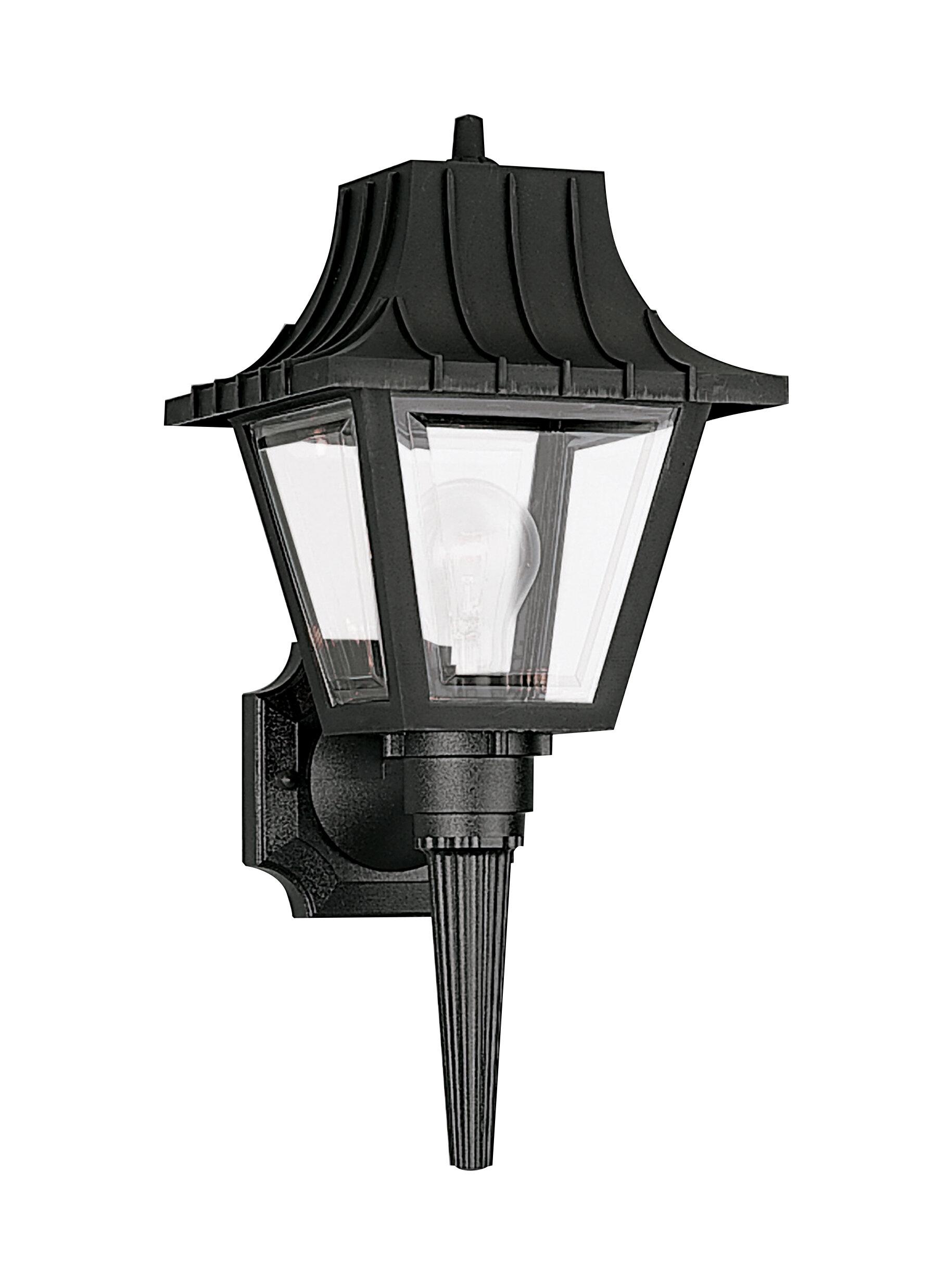 Breakwater Bay Sanderson 1 Light Outdoor Wall Lantern Wayfair