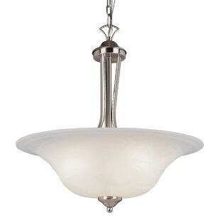 Darby Home Co Ellicottville 3-Light Bowl Pendant