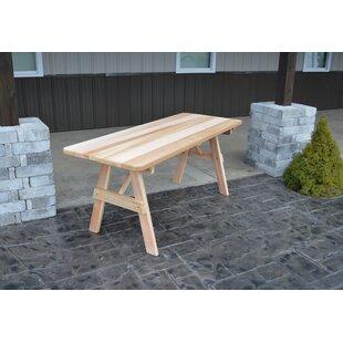Gebhard Wooden Picnic Bench