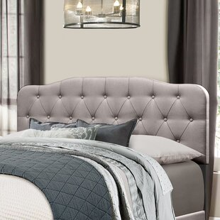 Best Whittington Upholstered Panel Headboard by Winston Porter