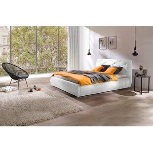 Orren Ellis Bonsai Modern Queen Upholstered Storage Platform Bed
