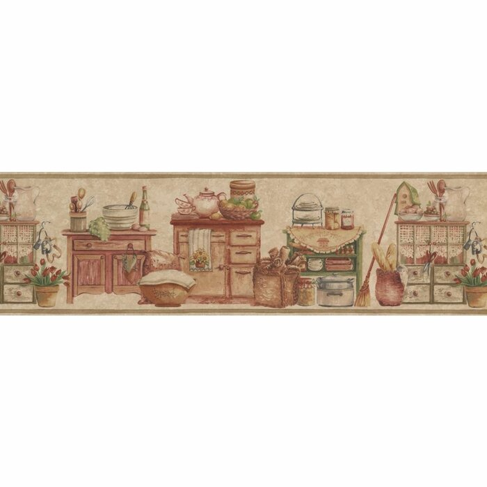 Mcgrady Wooden Kitchen 15\' L x 6.5\