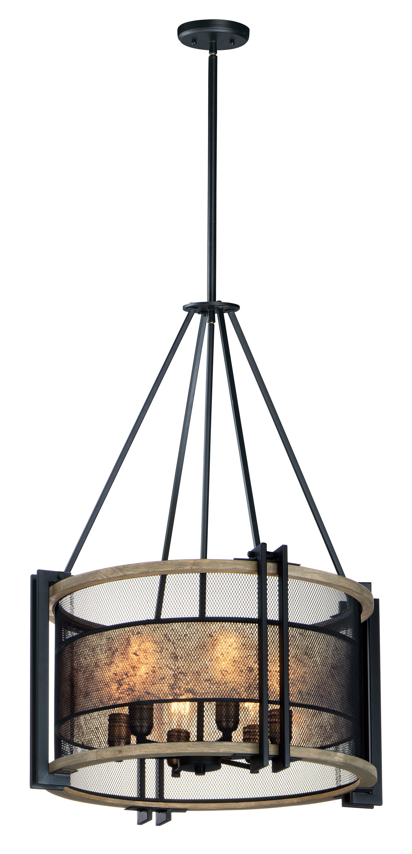 Williston Forge Moreland 6 Light Lantern Drum Chandelier Wayfair