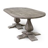 Quinten Solid Wood Dining Table by Gracie Oaks