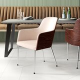 Hudson Upholstered Arm Chair by Nuans