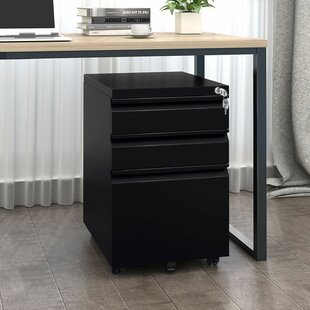 Tassone 3 Drawer Mobile Vertical Filing Cabinet By 17 Stories