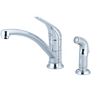 Pioneer Legacy Single Handle Kitchen Faucet with Side Spray