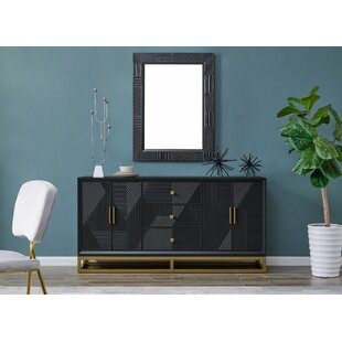Higham Sideboard With Mirror By Bloomsbury Market