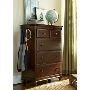 Chassidy 5 Drawer Chest by Harriet Bee