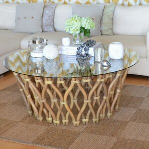 Kouboo Hoop Rattan Coffee Table Image