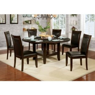 Mahle 7 Piece Solid Wood Dining Set