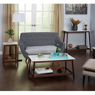 West Line 3 Piece Coffee Table Set