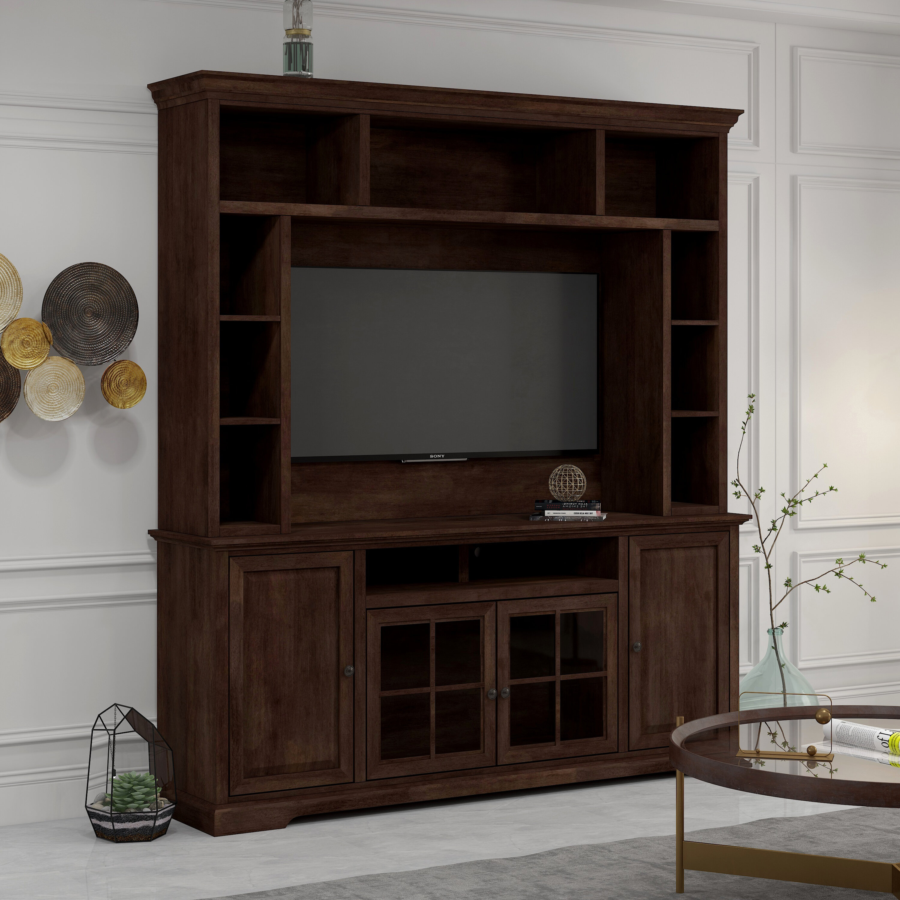 Darby Home Co Legrand Entertainment Center For Tvs Up To 60 Reviews
