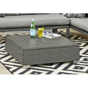 Sarver Rattan Cocktail Table by Ivy Bronx Best