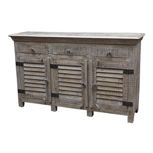 Drummond 3 Drawer Sideboard Rosecliff Heights