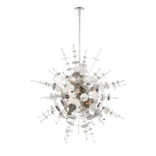 Orren Ellis Suai Retro 12-Light Chandelier