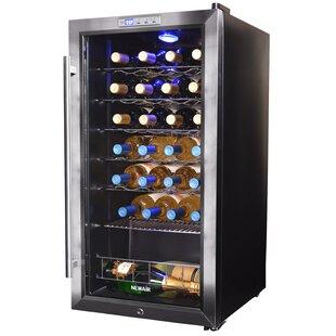 NewAir 27 Bottle Single Zone Freestanding Wine Cooler
