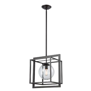 Caudill 1-Light Square Pendant by Williston Forge
