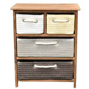Edisto 4 Drawer Accent Chest