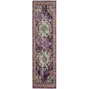 ce522eb261 Indira Violet Light Blue Indoor Area Rug