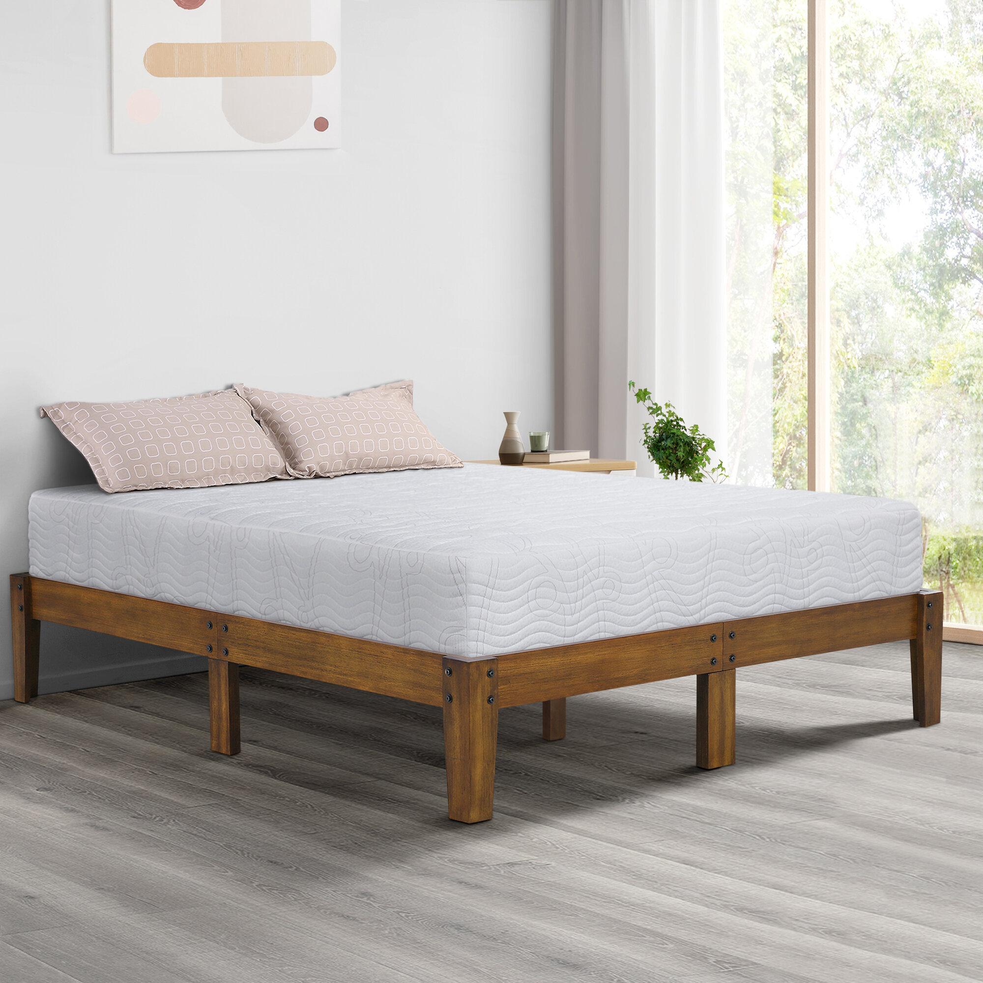 Millwood Pines Eli Solid Wood Platform Bed Reviews Wayfair