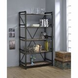 Flythe 72' H x 40 W Metal Etagere Bookcase by 17 Stories