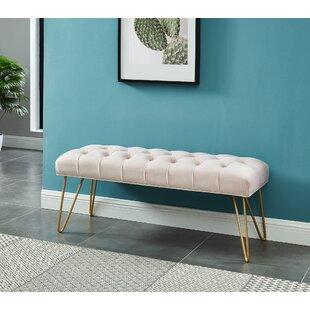 Mercer41 Logan Upholstered Bench