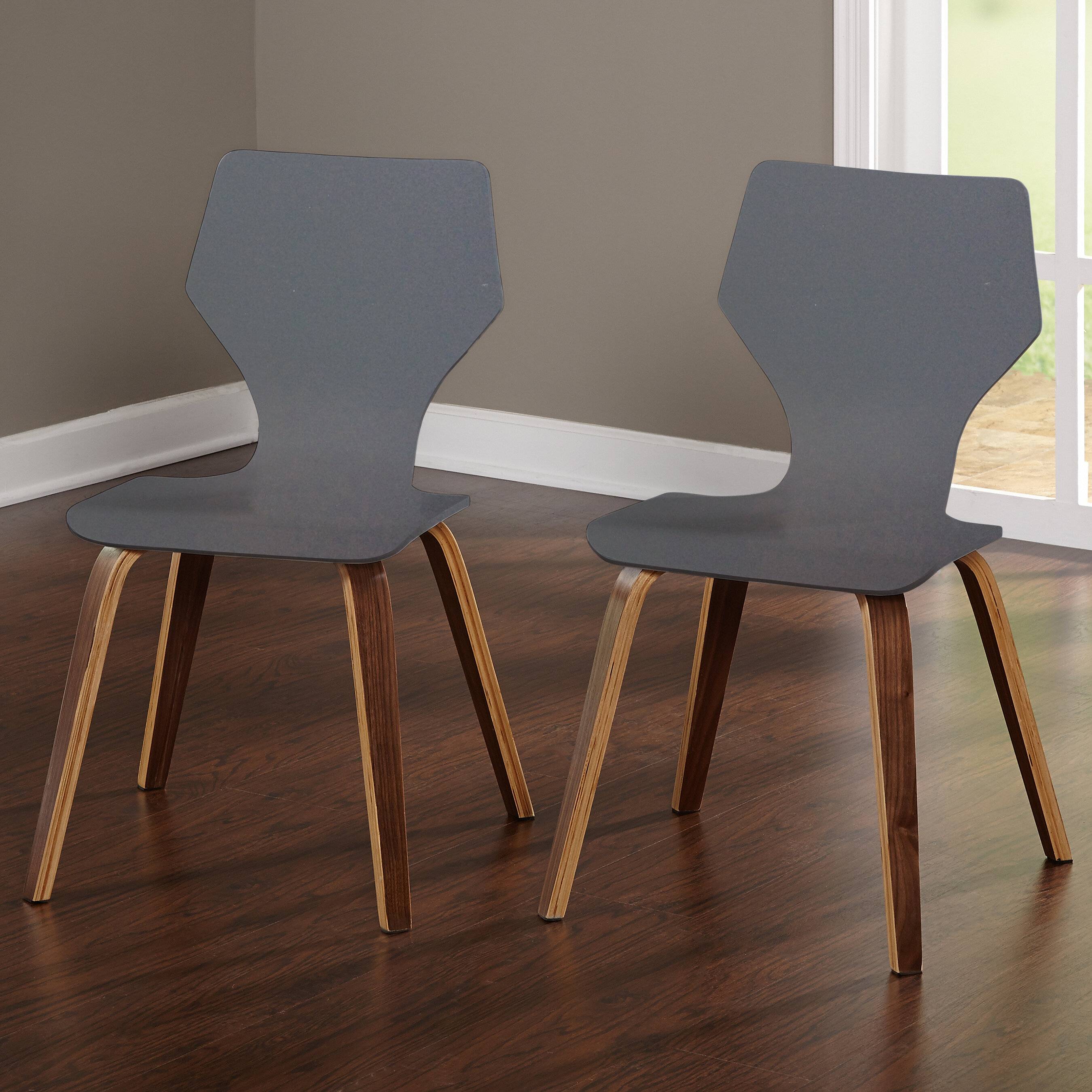 Walnut Kitchen Dining Chairs You Ll Love In 2020 Wayfair