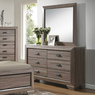 Westman 6 Drawer Double Dresser With Mirror by Gracie Oaks Herry Up